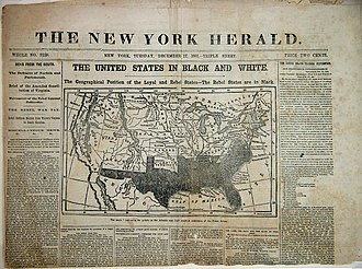 Penny press - Image: Picture of the New York Herald Penny Press