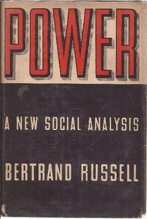 Power: A New Social Analysis - Cover of the first edition