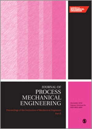 Proceedings of the Institution of Mechanical Engineers, Part E: Journal of Process Mechanical Engineering - Image: Proceedings of the I Mech E E journal cover