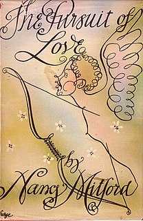 <i>The Pursuit of Love</i> book by Nancy Mitford