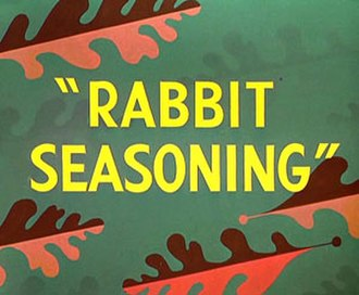 Rabbit Seasoning - Title card
