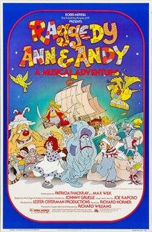 raggedy ann andy a musical adventure posterjpg - Raggedy Ann And Andy
