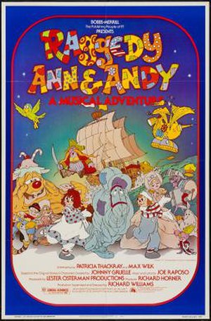 Raggedy Ann & Andy: A Musical Adventure - Theatrical release poster