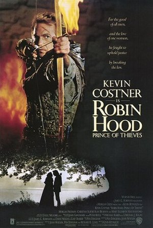 Robin Hood: Prince of Thieves - Theatrical release poster