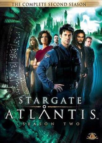 Stargate Atlantis (season 2) - DVD cover