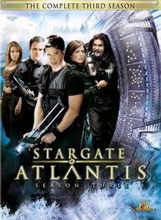 <i>Stargate Atlantis</i> (season 3) season of television series