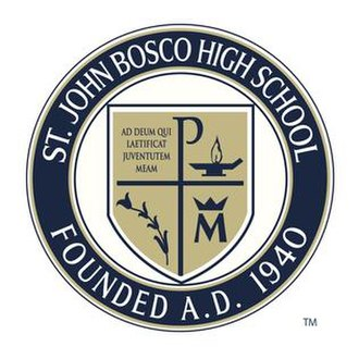 St. John Bosco High School - Image: SJB Official Seal
