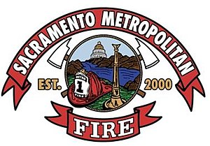 Sacramento Metropolitan Fire District - Image: Sacramento County Fire Department Logo