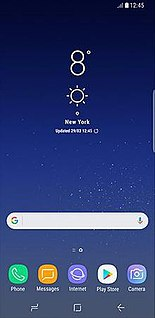 Samsung Experience Software overlay by Samsung Electronics
