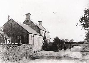 Mordington - School and headmaster's house, 1891