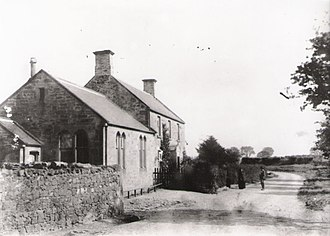 Mordington - School and headmaster's house, 1891