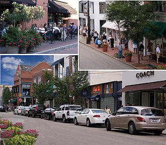 Walnut Street (Pittsburgh) - Stores on Walnut Street.