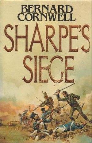 Sharpe's Siege (novel) - First edition