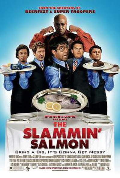Picture of a movie: The Slammin' Salmon