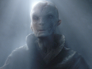 Supreme Leader Snoke - Supreme Leader Snoke in The Force Awakens