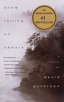 analysis of the 1994 award winning novel snow falling on cedars by american writer david guterson Was an award-winning  he is best known as the author of the book snow falling on cedars  early life david guterson  is an american writer.