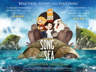 Song of the Sea (2014 film) - Theatrical release poster