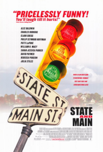 State and Main - Promotional poster for State and Main.
