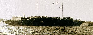 MV Struma - Photo believed to show Struma in port in Istanbul, 1942