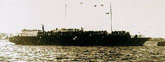 Soviet submarine Shch-213 - Photo believed to show Struma in port in Istanbul, 1941/42