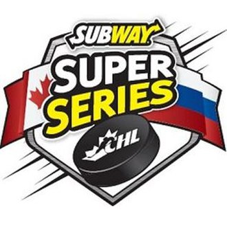 CHL Canada/Russia Series - Event logo from 2009–2014.