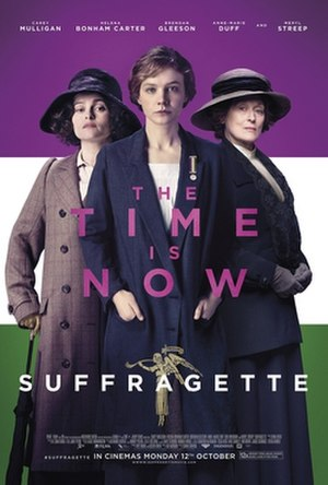 Suffragette (film) - Theatrical release poster