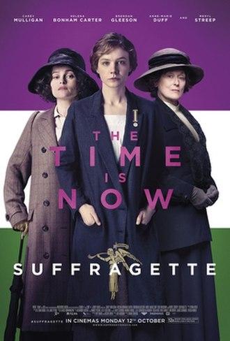 Suffragette (film) - Theatrical release poster