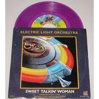 Sweet Talkin' Woman - Image: Sweet Talkin' Woman ELO