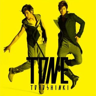 Tone (TVXQ album) - Image: TONE CD ONLY