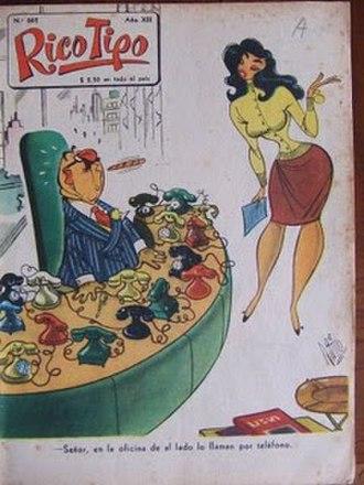 Rico Tipo - Cover of the magazine