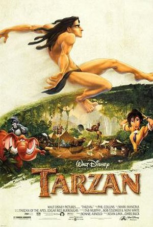 Tarzan (1999 film) - Theatrical release poster