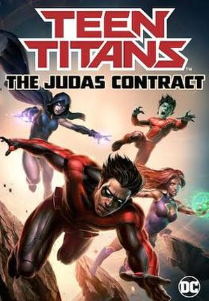 Teen Titans: The Judas Contract - Promotional poster