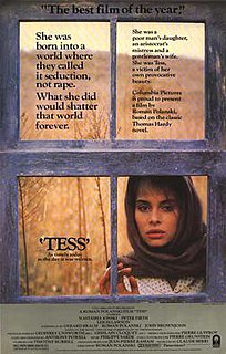 <i>Tess</i> (1979 film) 1979 film by Roman Polanski