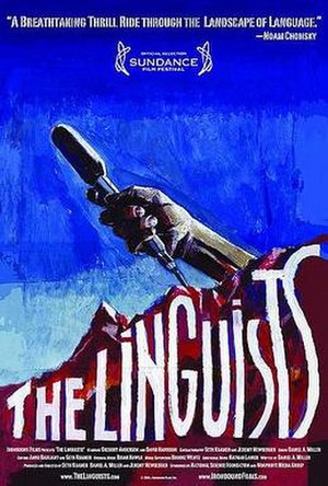 The Linguists - Movie poster for The Linguists