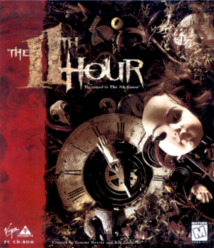 The 11th Hour (video game) - CD Cover art