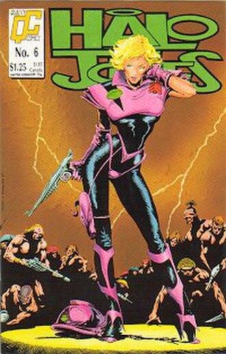 The Ballad of Halo Jones - Cover of Halo Jones Issue No. 6 (Quality Comics)