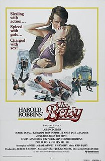 <i>The Betsy</i> 1978 film by Daniel Petrie