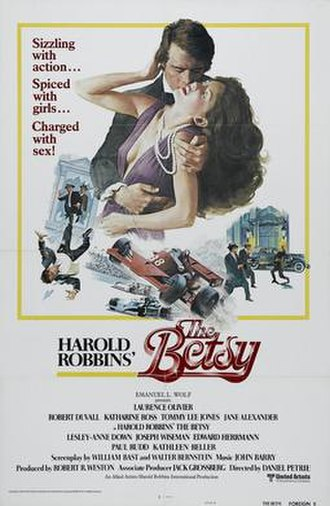 The Betsy - Original theatrical poster of The Betsy