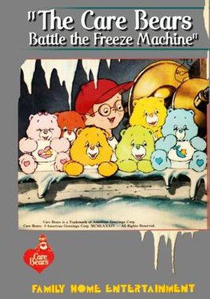 The Care Bears Battle the Freeze Machine - A poster for the original May 1984 video release of the special