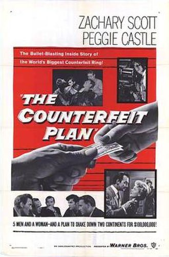 The Counterfeit Plan - Theatrical release poster