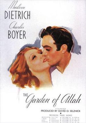 The Garden of Allah (1936 film) - 1936 US Theatrical Poster