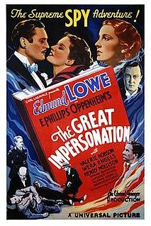 <i>The Great Impersonation</i> (1935 film) 1935 film by Alan Crosland