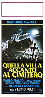<i>The House by the Cemetery</i> 1981 film directed by Lucio Fulci