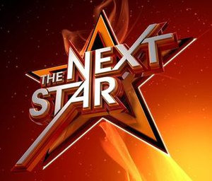 The Next Star - The current logo