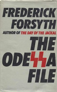<i>The Odessa File</i> novel by Frederick Forsyth