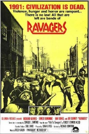Ravagers (film) - U.S. theatrical release poster