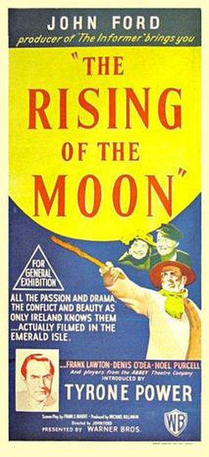 The Rising of the Moon (film) - Original Australian film poster