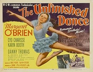 The Unfinished Dance - Theatrical release poster