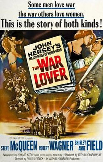 The War Lover - American cinema poster