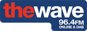The Wave 96.4 FM - The Wave logo used from 2010 to 2016.
